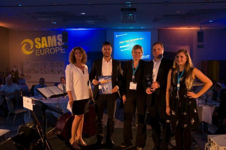 Daimler Wins SAMS Europe 2015 Award for Best Software Asset Management Project