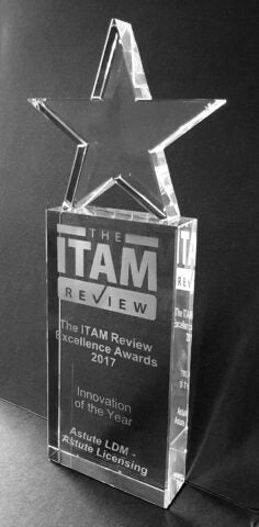Congratulations to Astute Licensing for the ITAM Innovation Award!