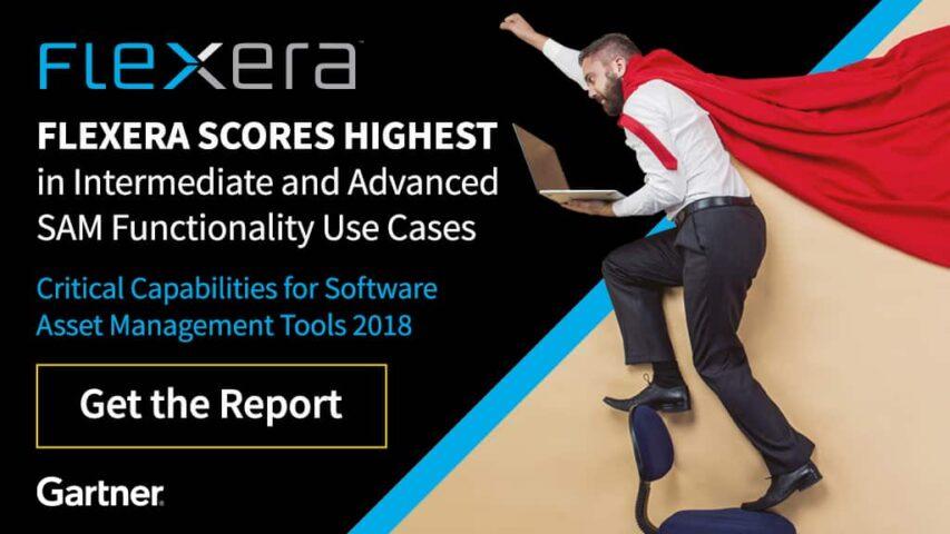 Flexera and the Gartner Critical Capabilities for Software Asset Management Tools